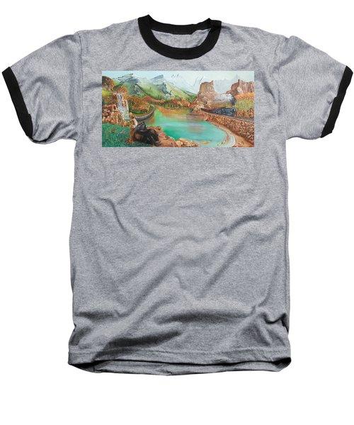 Autumn Baseball T-Shirt by Farzali Babekhan