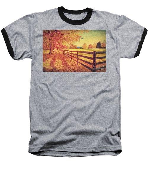 Autumn Fences Baseball T-Shirt