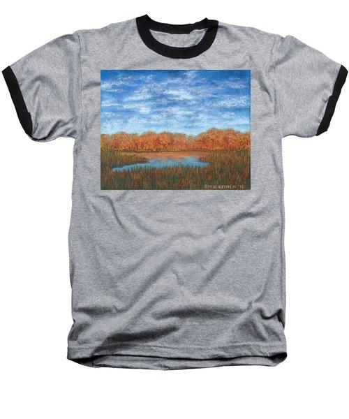 Autumn Field 01 Baseball T-Shirt
