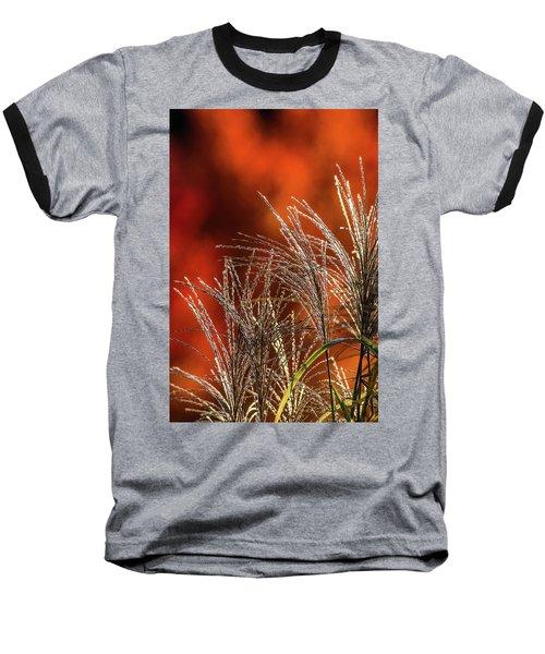 Autumn Fire - 1 Baseball T-Shirt