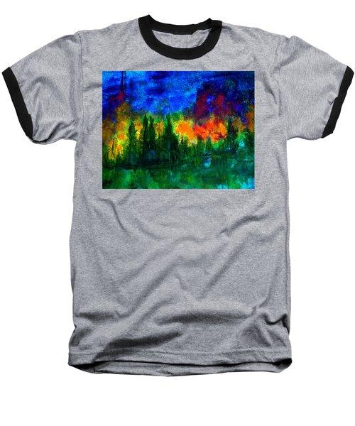 Autumn Fires Baseball T-Shirt