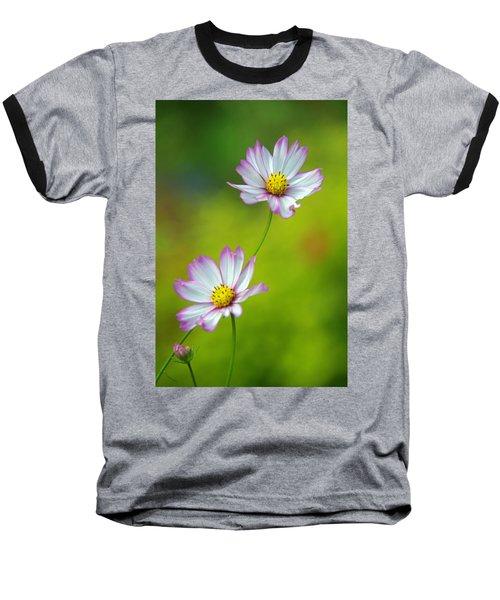 Baseball T-Shirt featuring the photograph Autumn Flowers by Byron Varvarigos