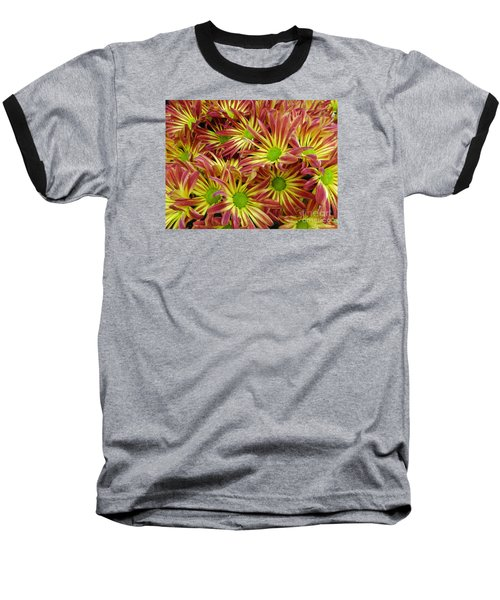 Baseball T-Shirt featuring the photograph Autumn Flowers by Lyric Lucas
