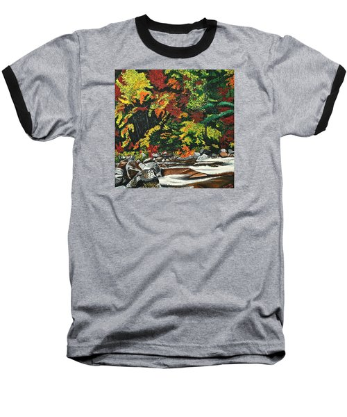 Autumn Frost Baseball T-Shirt