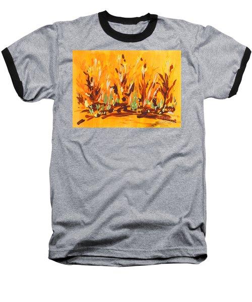 Autumn Garden Baseball T-Shirt