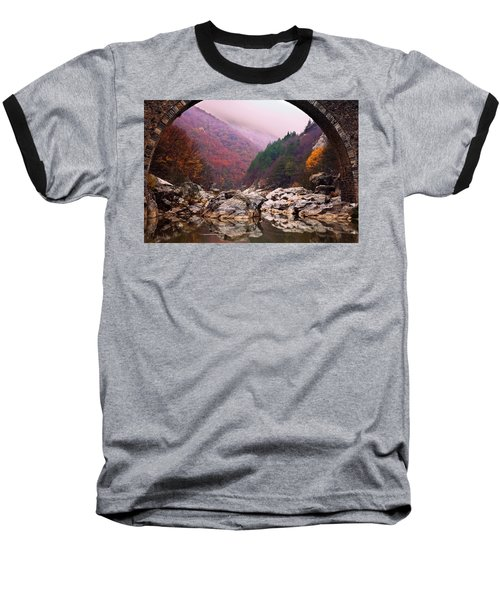 Autumn Gate Baseball T-Shirt