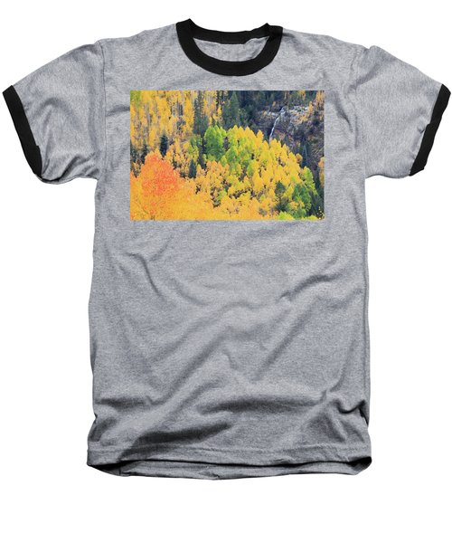 Baseball T-Shirt featuring the photograph Autumn Glory by David Chandler