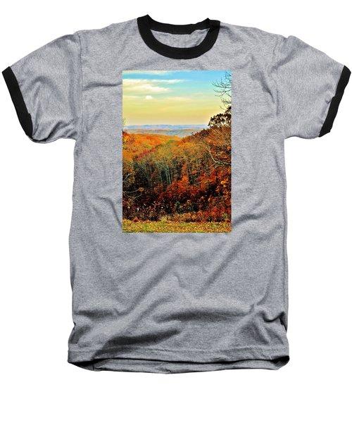 Autumn Glory Baseball T-Shirt