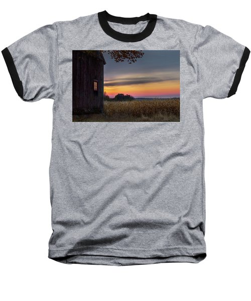 Baseball T-Shirt featuring the photograph Autumn Glow by Bill Wakeley