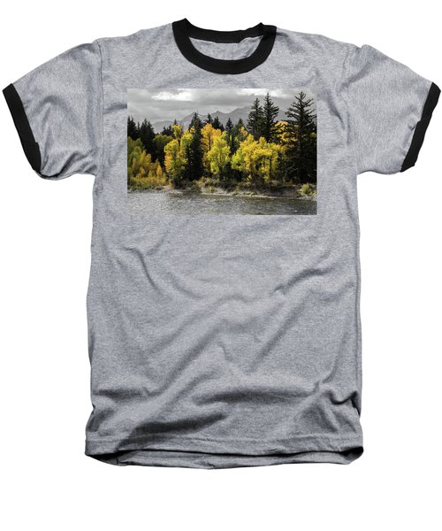 Baseball T-Shirt featuring the photograph Autumn Glow by Colleen Coccia