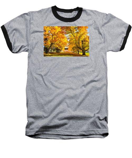 Baseball T-Shirt featuring the photograph Autumn Gold IIi by Robert Clifford