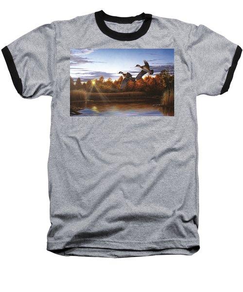 Autumn Home - Wood Ducks Baseball T-Shirt