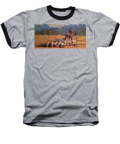 Autumn Hunt Crew Baseball T-Shirt