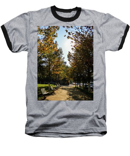 Autumn In Argentina Baseball T-Shirt