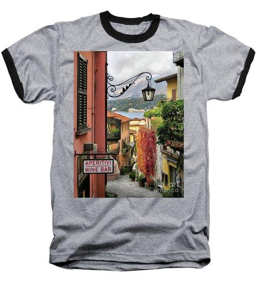 Autumn In Bellagio Baseball T-Shirt by Jennie Breeze