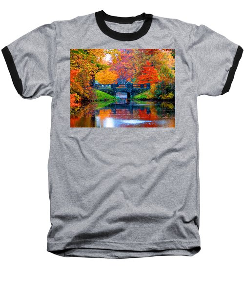 Autumn In Boston Baseball T-Shirt