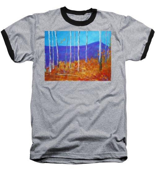 Autumn In Cloudcroft Baseball T-Shirt