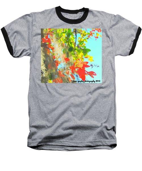 Autumn In Dixie  Baseball T-Shirt