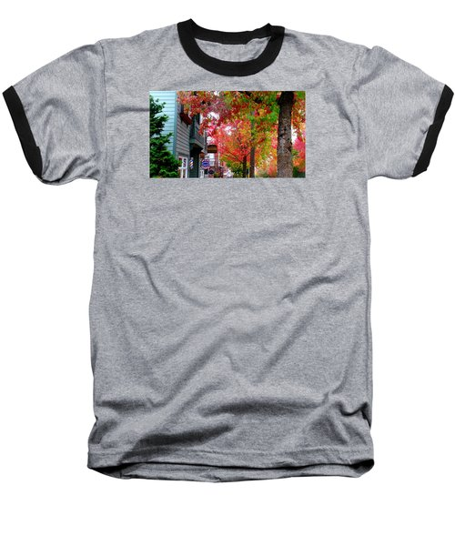 Autumn In Fairhaven Baseball T-Shirt