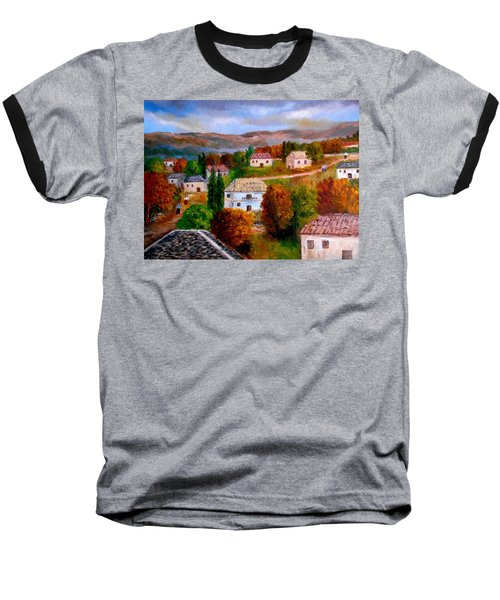 Autumn In Greece Baseball T-Shirt