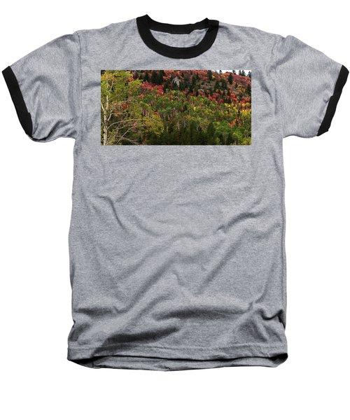 Autumn In Idaho Baseball T-Shirt by Yeates Photography