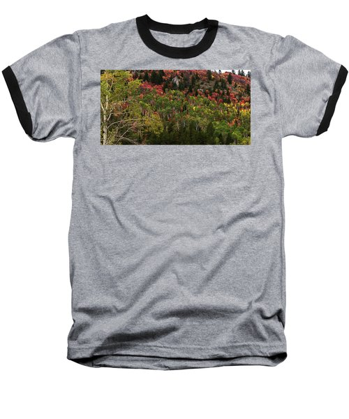 Autumn In Idaho Baseball T-Shirt