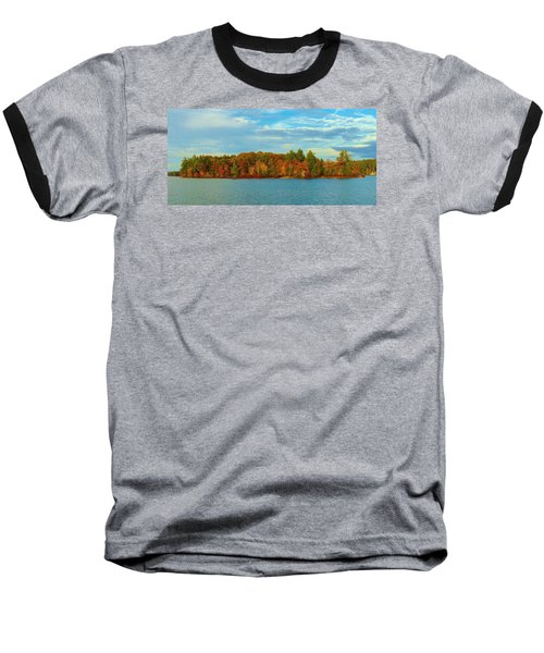 Autumn In Maine Baseball T-Shirt
