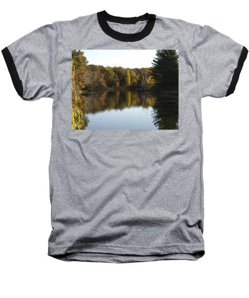 Autumn In Mears Michigan Baseball T-Shirt