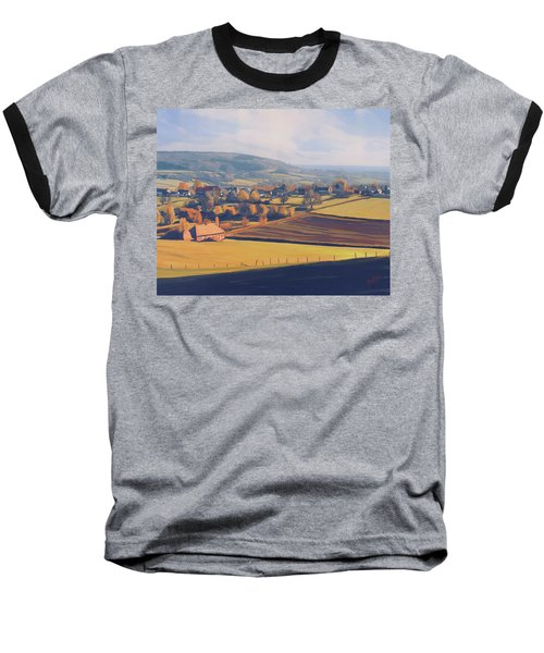 Autumn In Mechelen Baseball T-Shirt by Nop Briex