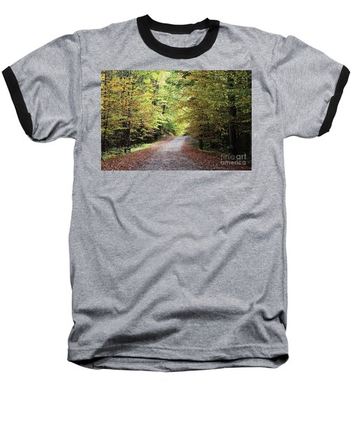 Autumn In Michigan Baseball T-Shirt