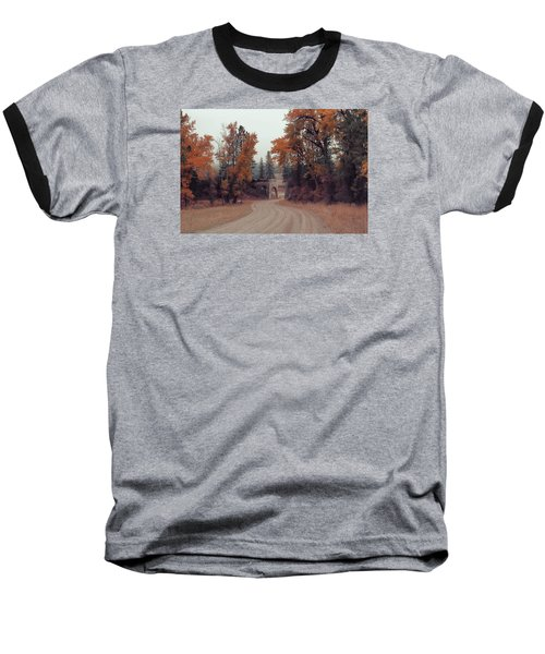 Autumn In Montana Baseball T-Shirt