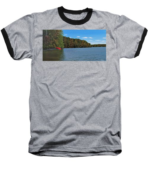 Autumn In Muskoka Baseball T-Shirt