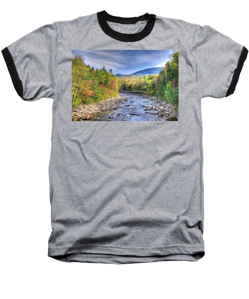 Autumn In New Hampshire Baseball T-Shirt