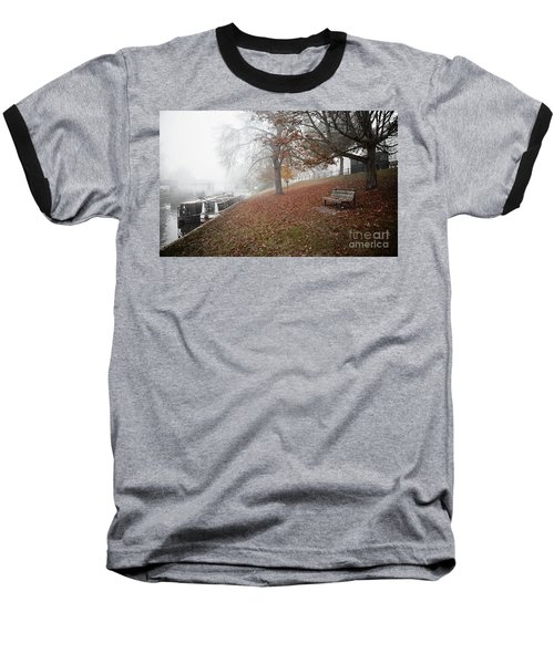 Autumn In River Cam Baseball T-Shirt