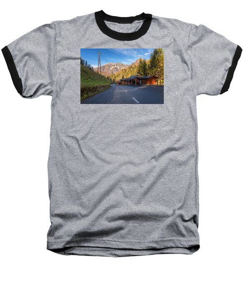Autumn In Slovenia Baseball T-Shirt by Robert Krajnc