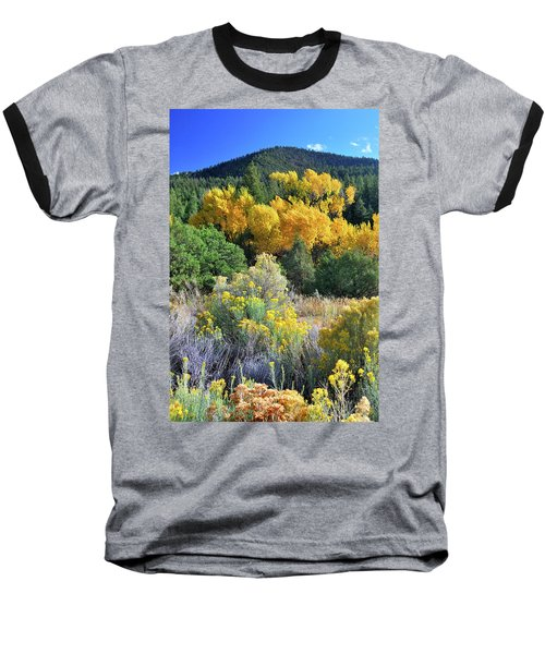 Autumn In The Canyon Baseball T-Shirt