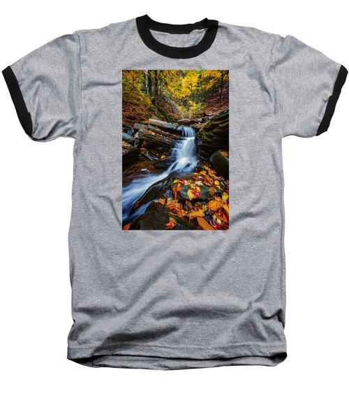 Autumn In The Catskills Baseball T-Shirt