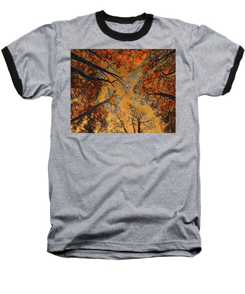 Autumn In The Forest Baseball T-Shirt
