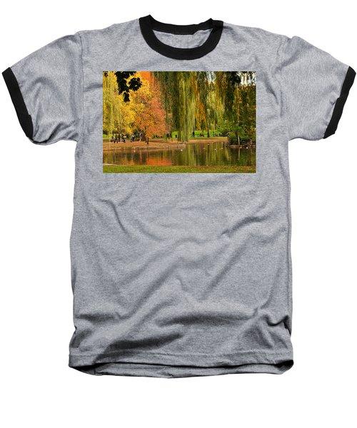 Autumn In The Garden Baseball T-Shirt
