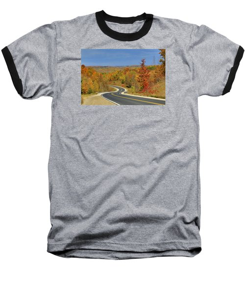 Autumn In The Hockley Valley Baseball T-Shirt by Gary Hall