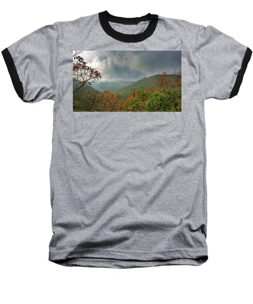 Autumn In The Ilsetal, Harz Baseball T-Shirt