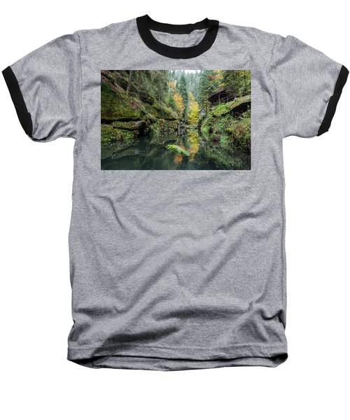 Autumn In The Kamnitz Gorge Baseball T-Shirt