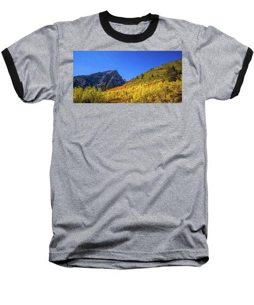 Autumn In The Rockies Baseball T-Shirt