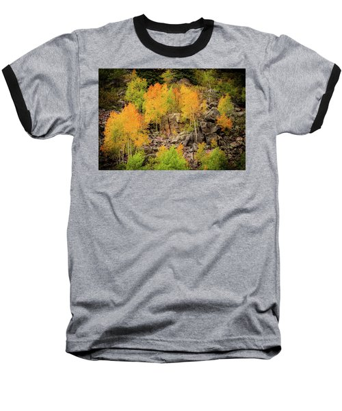 Autumn In The Uinta Mountains Baseball T-Shirt
