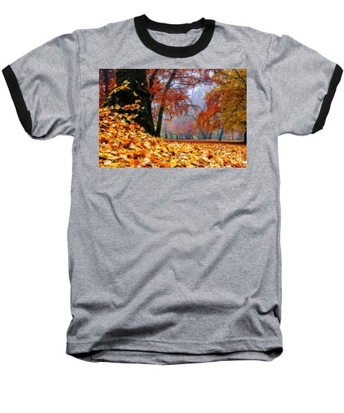 Autumn In The Woodland Baseball T-Shirt