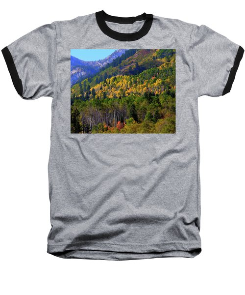 Autumn In Utah Baseball T-Shirt