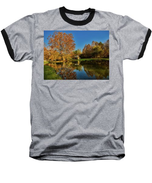 Autumn In West Virginia Baseball T-Shirt by L O C