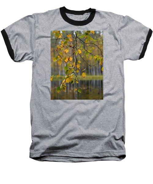 Autumn  Baseball T-Shirt by Jouko Lehto
