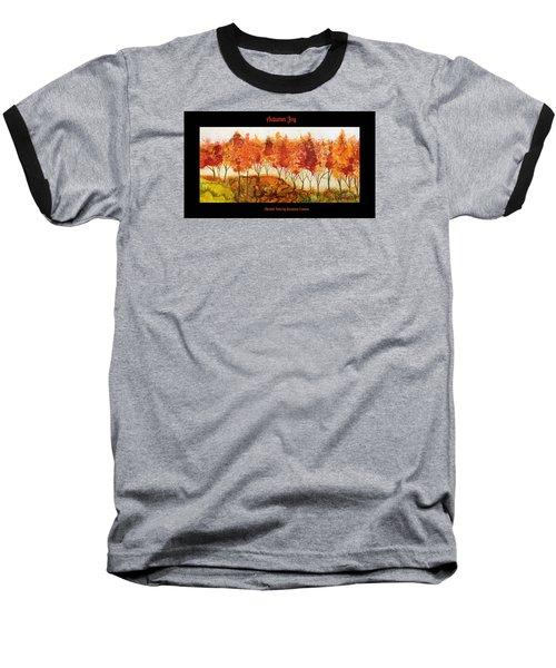 Autumn Joy Baseball T-Shirt