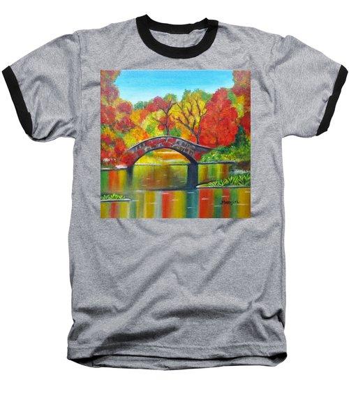 Autumn Landscape -colors Of Fall Baseball T-Shirt